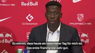 """Vorschaubild für Moriba: """"Will mit Leipzig Titel gewinnen"""""""