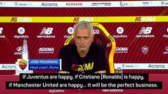 Preview image for Ronaldo to Man United will be the 'perfect business' – Mourinho