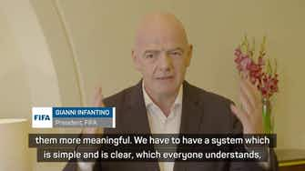 Preview image for FIFA president Infantino bemoans 'too many meaningless' internationals