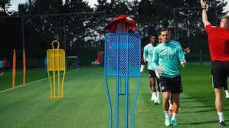 Imagen de vista previa para El Arsenal se prepara para su partido ante el Brentford