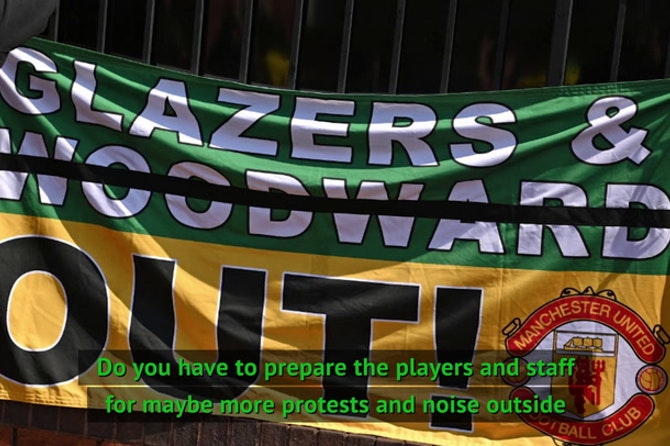 Rodgers has 'no concerns' for Man United game after protests
