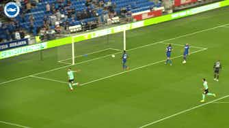 Preview image for Moder's first goal for Brighton