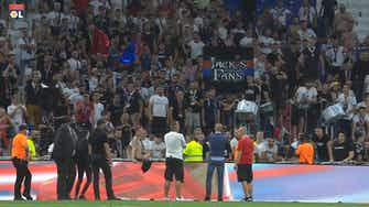 Preview image for Peter Bosz spoke to the fans after Strasbourg win