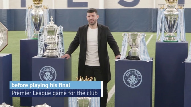 Preview image for Tributes to Aguero unveiled ahead of Manchester City farewell