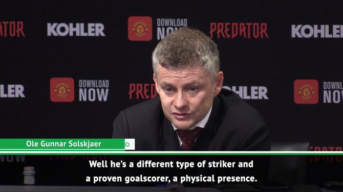Preview image for Solskjaer explains what Ighalo will bring to United