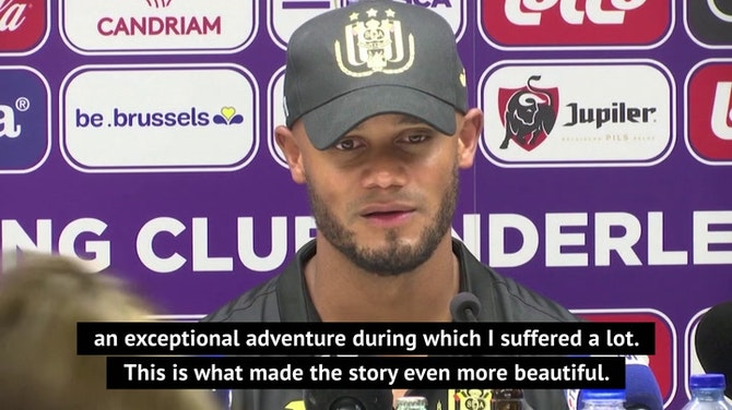 Preview image for Retired Kompany will instil City influence at Anderlecht