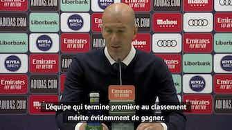 Image d'aperçu pour 38e j. - Zidane reste évasif sur son avenir