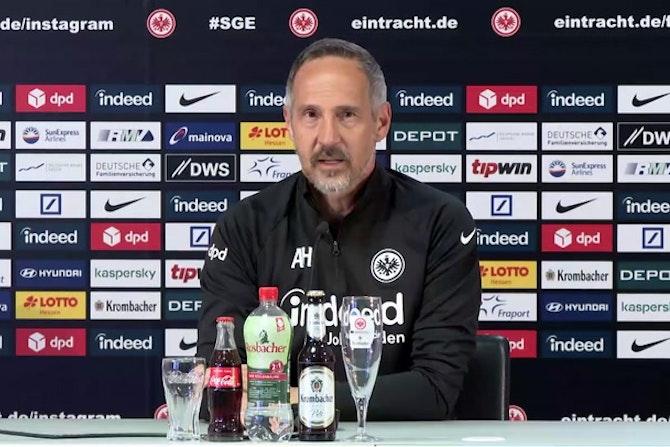 Zoff mit Younes? Das sagt Eintracht-Coach Hütter