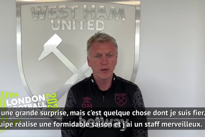 London Football Awards - Moyes remporte le trophée du meilleur entraîneur