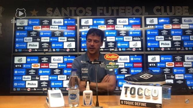 Imagem de visualização para Diniz analisa os últimos três jogos sem vitórias do Santos
