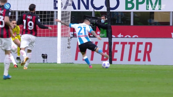 All Zielinski's assists in 2020-21 at Napoli