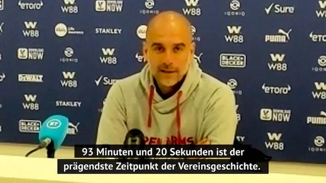 """Guardiola lobt Agüero: """"Was für ein Spieler"""""""