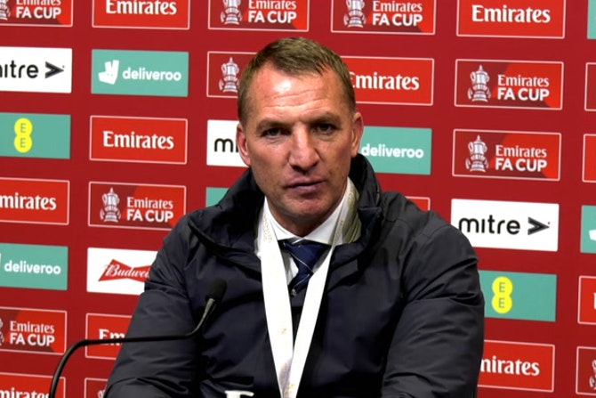 Brendan Rodgers FA CUP Final post-match reaction