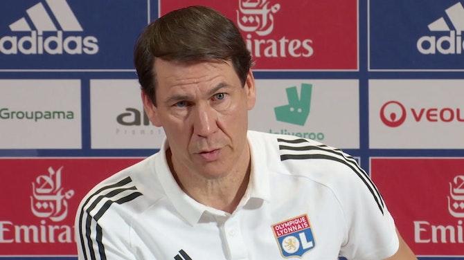 """36e j. - Garcia : """"Lyon doit être en Ligue des champions"""""""