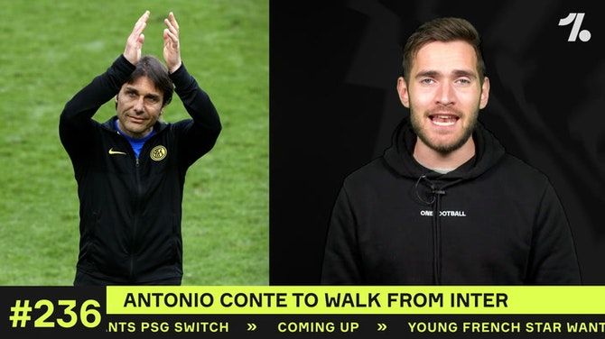Antonio Conte to WALK AWAY from Inter?