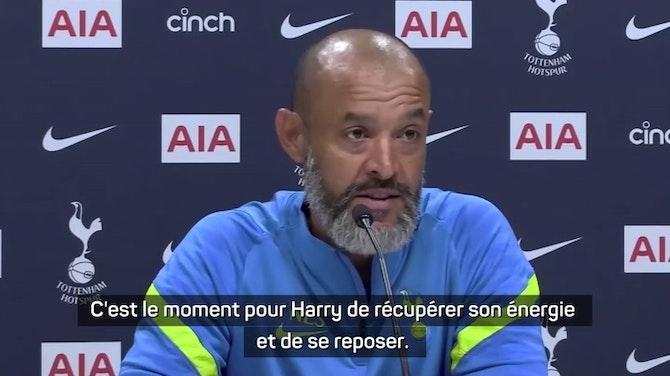 """Image d'aperçu pour Premier League - Espirito Santo : """"Kane est un joueur de Tottenham"""""""