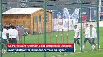 Image d'aperçu pour PSG - Mbappé bien présent à l'entraînement