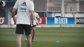 Preview image for La Juventus continua ad allenarsi