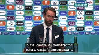 Preview image for 'The penalty was soft, I can understand that' - Southgate