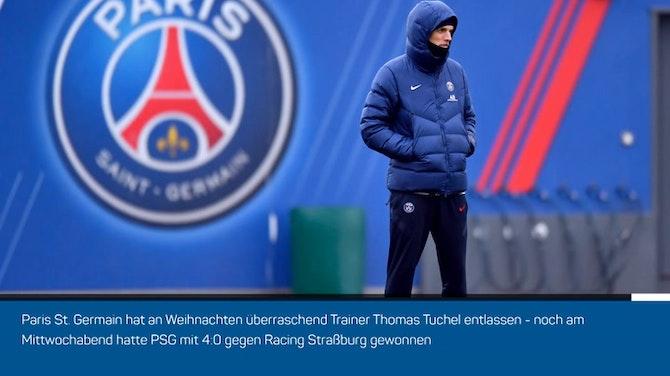 Vorschaubild für Trainer-Hammer! PSG feuert Tuchel