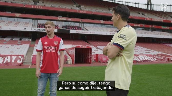 Imagen de vista previa para Smith Rowe, el nuevo 10 del Arsenal: 'Quiero ser una leyenda'