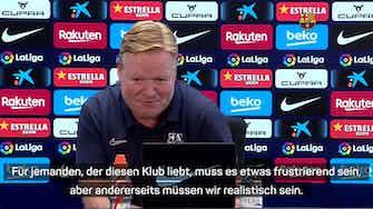 """Vorschaubild für Koeman zu Transfers: """"Frustrierend"""" für Barca-Fans"""