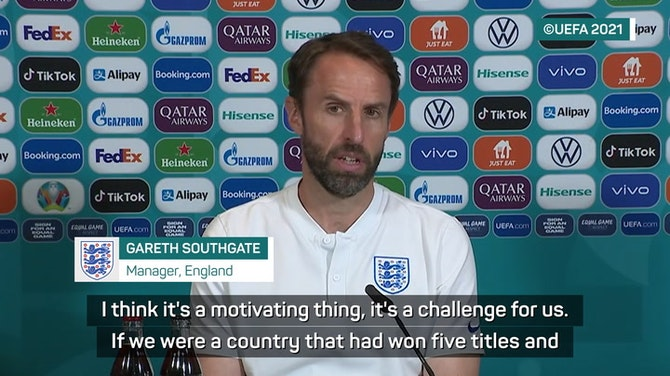 Preview image for Southgate's England motivated by Euro semi-final pressure