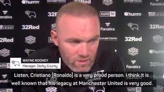 """Preview image for United """"would never let"""" Ronaldo move to City - Rooney"""