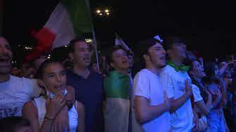 Anteprima immagine per Italia, dopo la vittoria esplode l'inno di Mameli