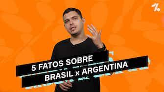 Imagem de visualização para 5 FATOS sobre BRASIL x ARGENTINA