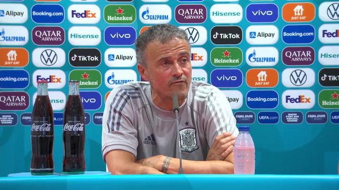 """Luis Enrique, en titulares: """"El primer partido siempre es importante"""""""