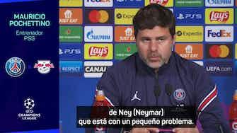 """Imagen de vista previa para Pochettino """"Ojalá que Messi rinda de la forma que él y todo el mundo espera"""""""