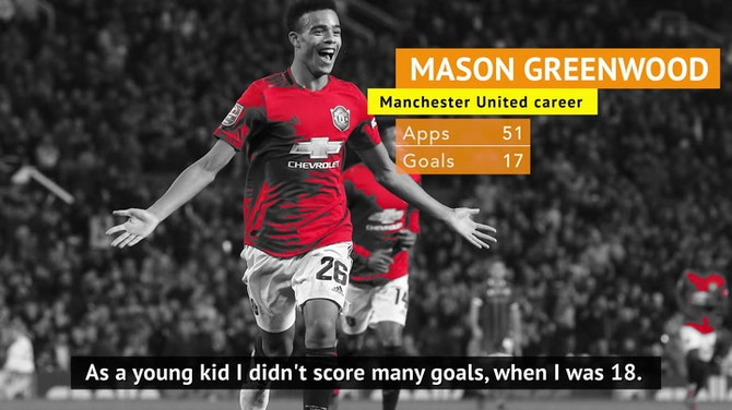 Preview image for Van Persie admits 'deadly' Greenwood 'is doing better at 18' than he was