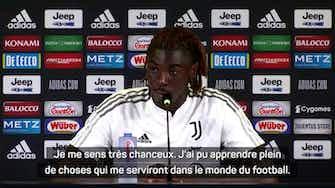 """Image d'aperçu pour Juventus - Kean : """"J'ai appris beaucoup de choses au PSG"""""""