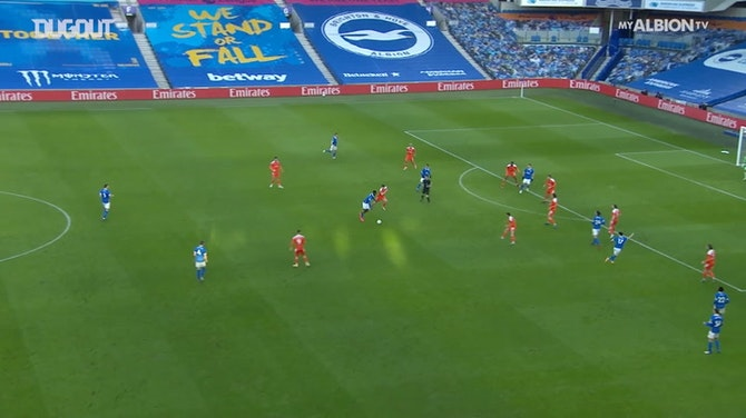 Brighton and Hove Albion's best moments of 20-21 season