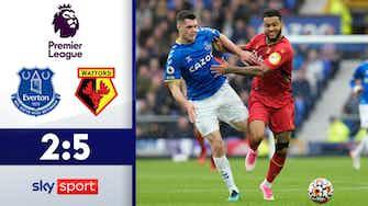 Vorschaubild für Watford mit furiosem Comeback   Everton - Watford 2:5