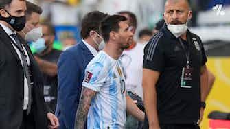 Vorschaubild für Brasilien gegen Argentinien abgebrochen!