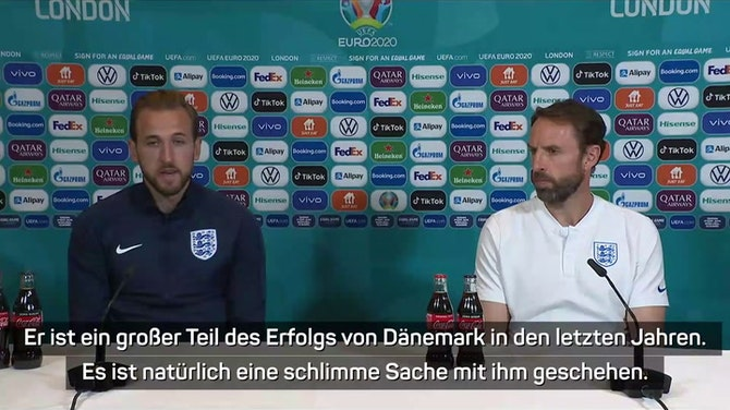 """Vorschaubild für Trikot für Eriksen! Kane: """"Symbol der Anteilnahme"""""""