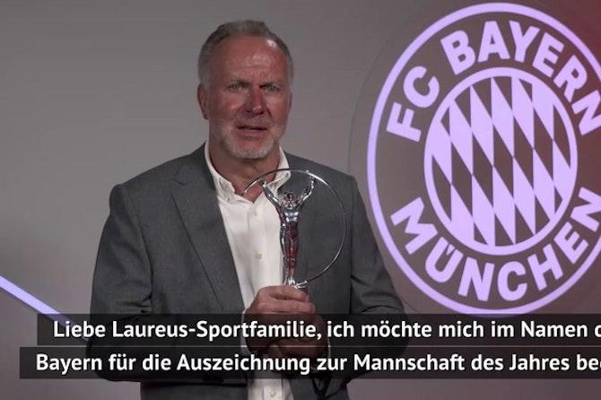 "Rummenigge: Laureus-Award ""krönender 7. Titel"""