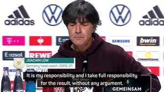 Preview image for Löw takes responsibility after disappointing Germany exit