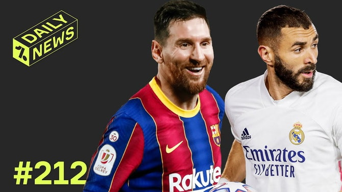 Preview image for Barcelona offer NEW Messi contract + MORE Super League REACTION!