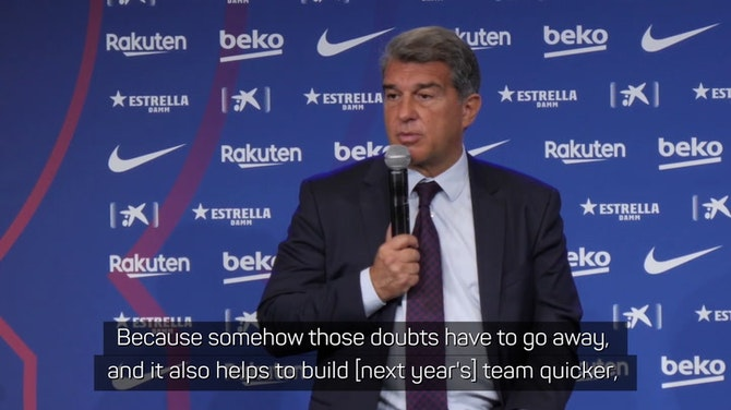 Laporta wants Messi deal soon