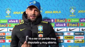 """Imagen de vista previa para Weverton: """"Sabemos la calidad que tiene Argentina"""""""