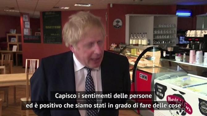 """Johnson: """"Il Regno Unito non vuole la Super League"""""""