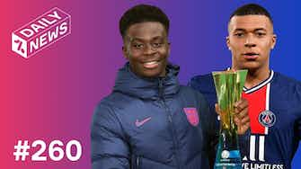 Preview image for Saka shines for England! + Mbappe asks to LEAVE PSG?!