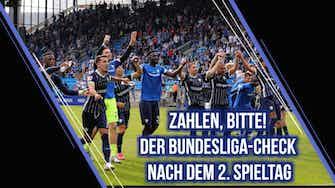 Vorschaubild für Zahlen, bitte! Der Bundesliga-Check zum 2. Spieltag | SID