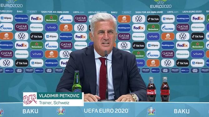 """Petkovic: """"Shaqiri hat ein gutes Spiel gemacht"""""""