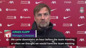 Preview image for 'Protests must be peaceful' - Klopp condemns United fans