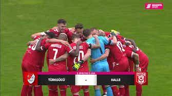 Vorschaubild für Türkgücü München - Hallescher FC (Highlights)