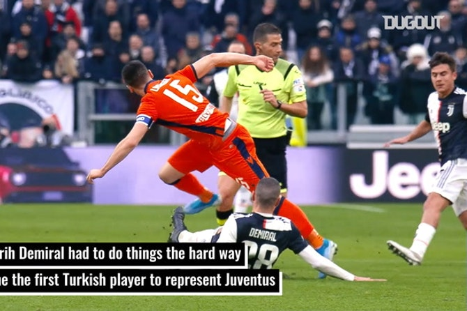 Merih Demiral's journey to the top at Juventus